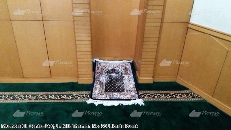 karpet masjid hijau, jakarta selatan