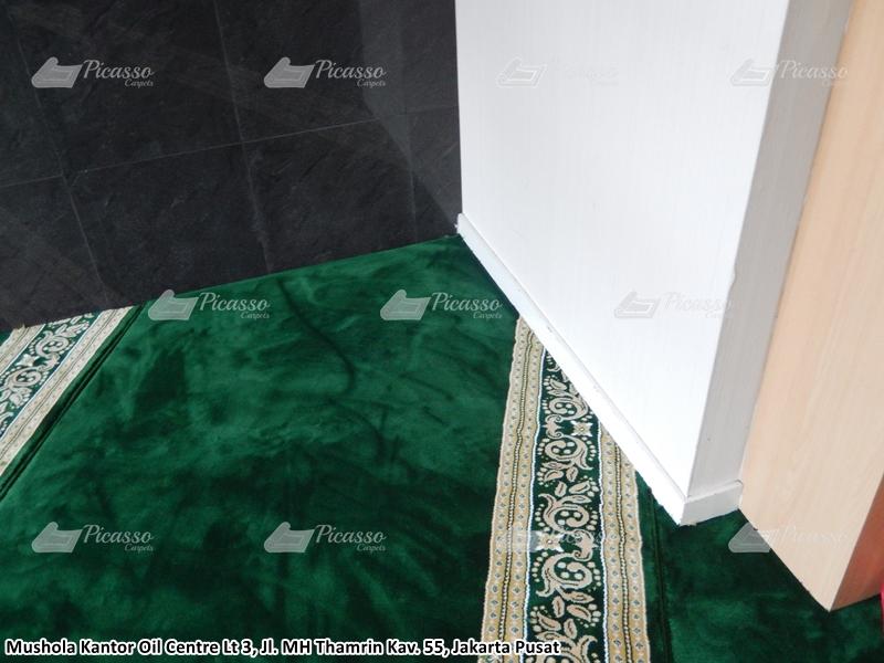 karpet masjid hijau jakarta pusat