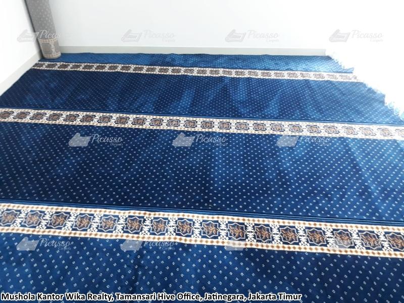karpet masjid biru, jatinegara jakarta timur