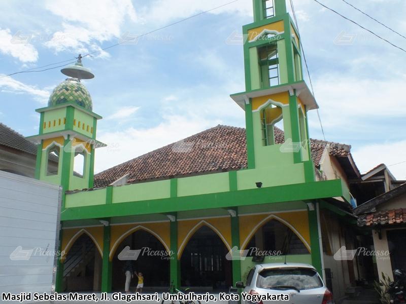 Karpet Masjid Sebelas Maret Jl Glagahsari Jogja