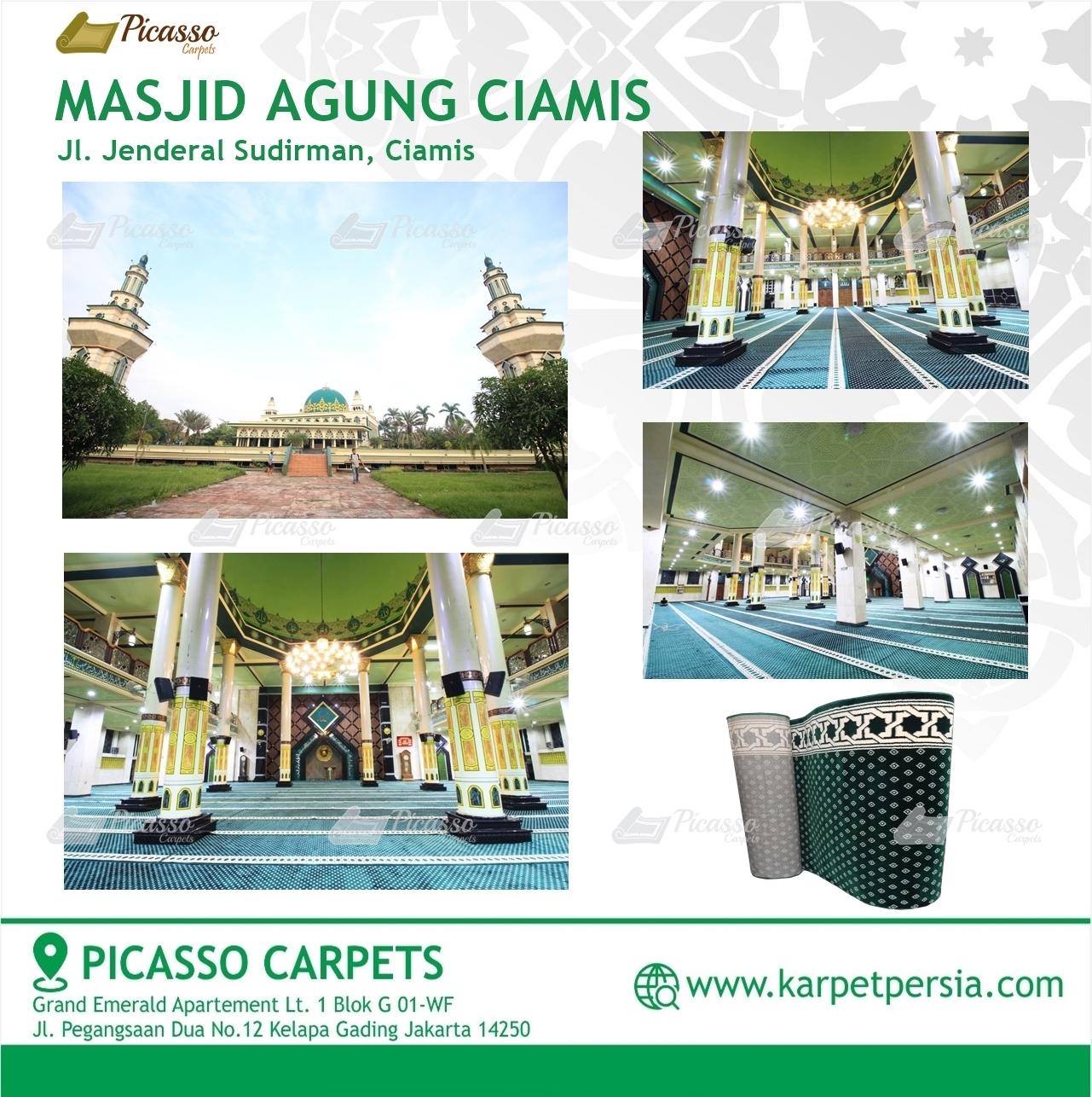 Karpet Sajadah Masjid Agung Ciamis