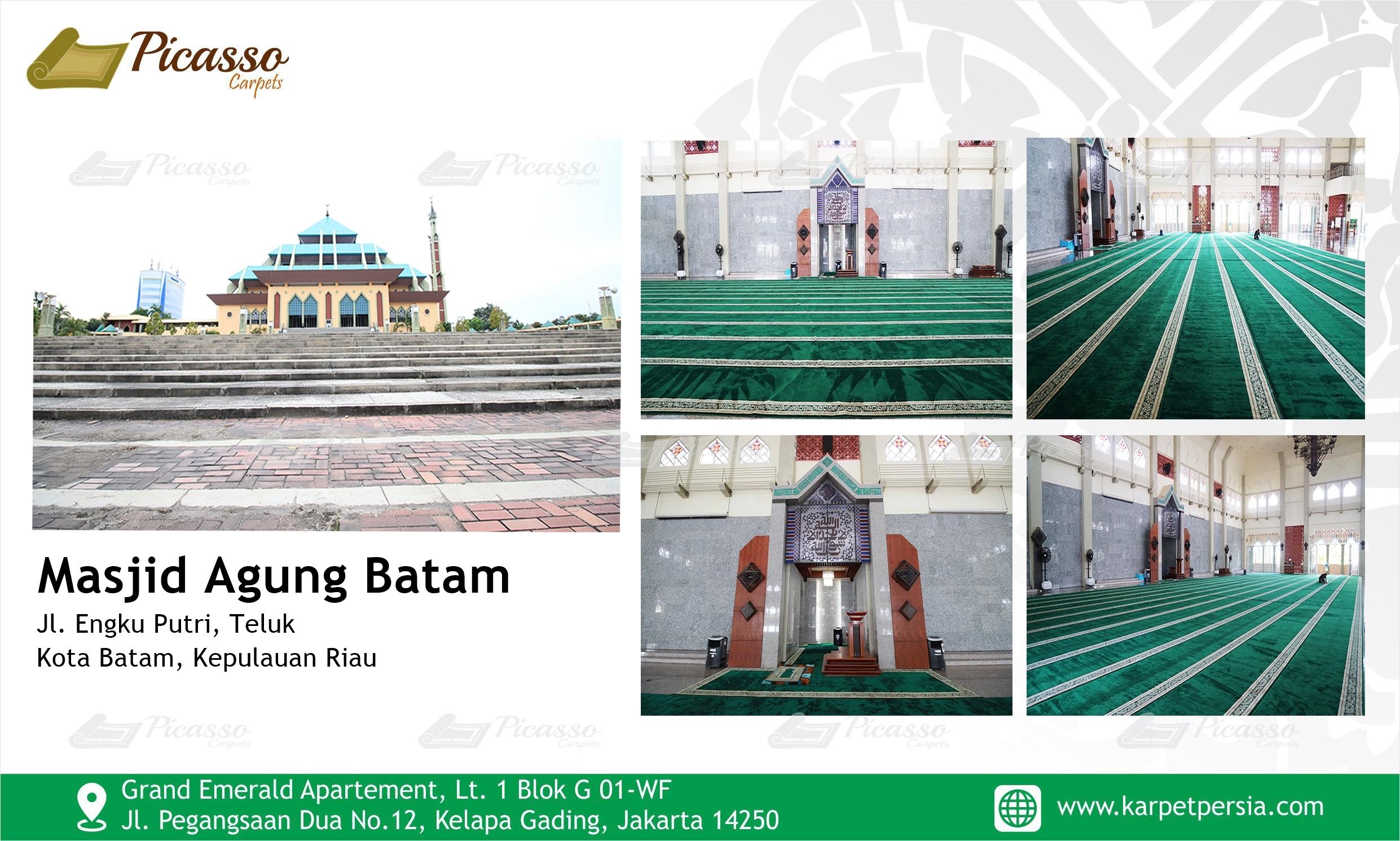 Masjid Agung Batam, Kepulauan Riau