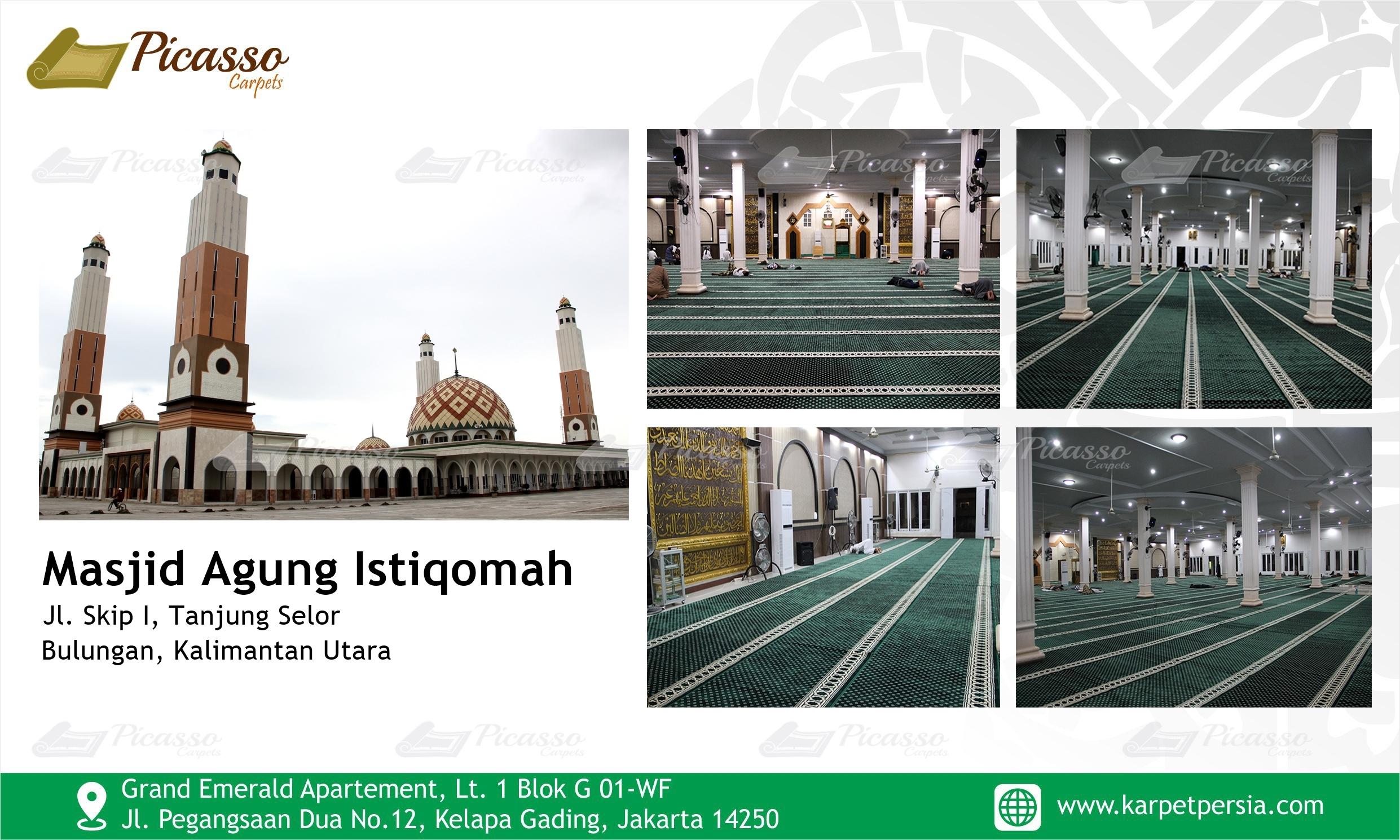 Masjid Agung Istiqomah Tanjung Selor, Bulungan, Kalimantan Utara