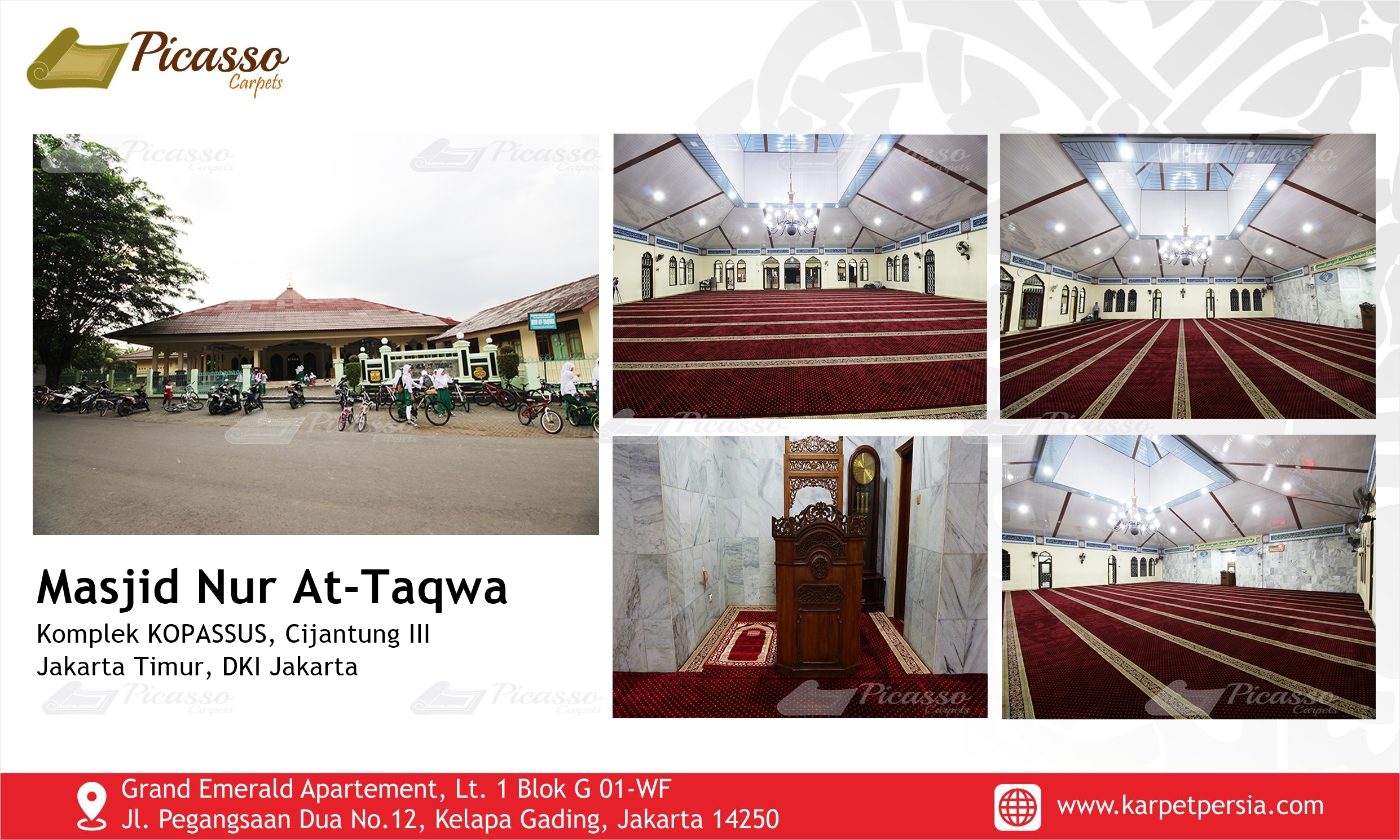 Masjid Nur AT-Taqwa, Cijantung III, Jakarta Timur