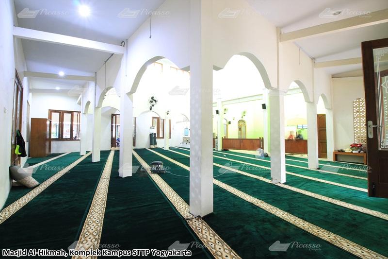 Karpet Masjid Al-Hikmah Kampus STTP Yogyakarta