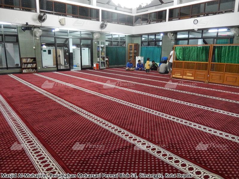 Karpet Masjid Al-Muhajirin, Cimanggis, Depok