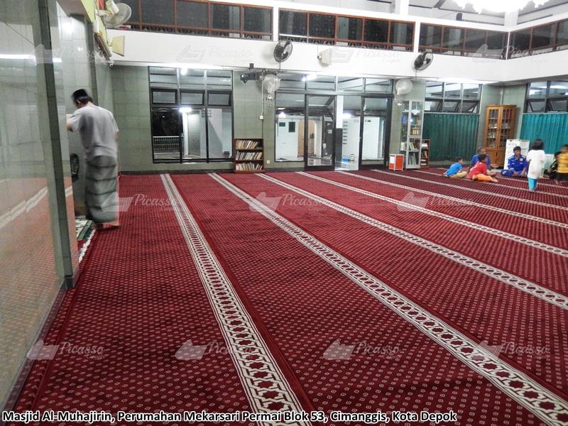 karpet masjid merah cimanggis depok