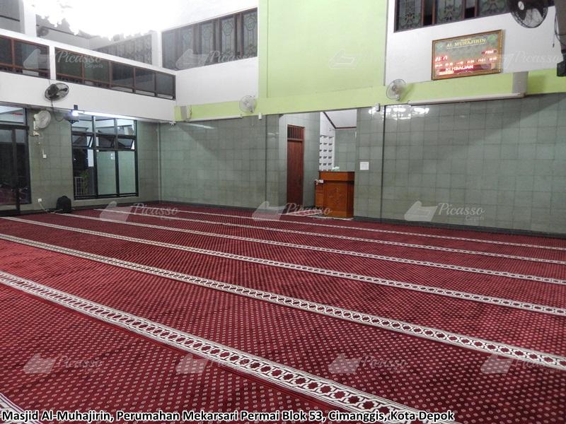 karpet masjid merah depok