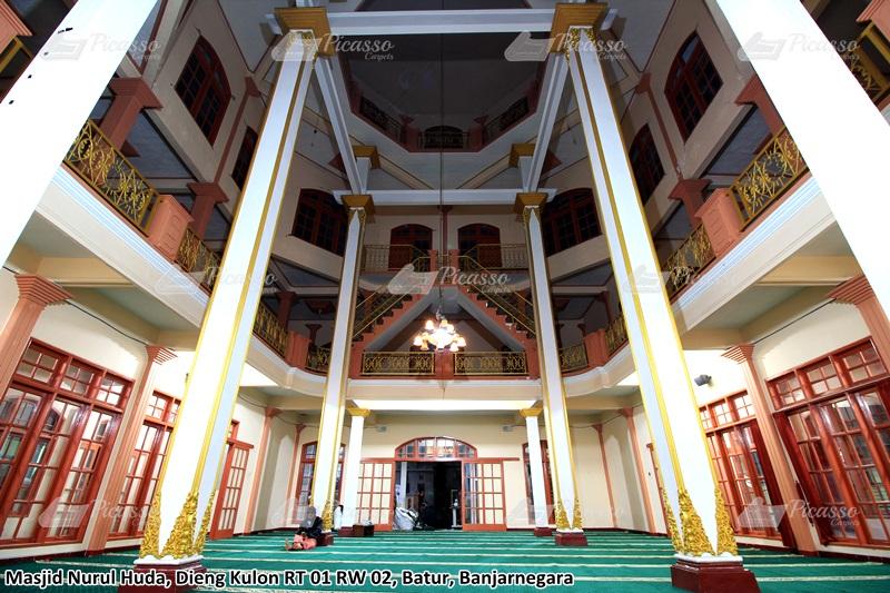 Karpet Masjid Nurul Huda, Dieng Kulon, Banjarnegara