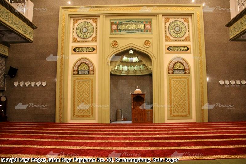 Karpet Masjid Raya Bogor