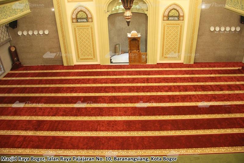 karpet masjid merah bogor
