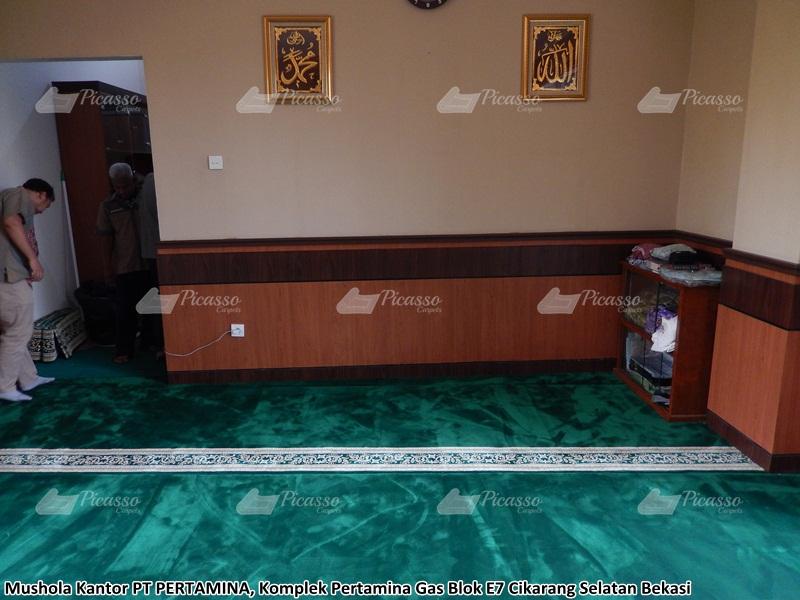 karpet masjid hijau bekasi