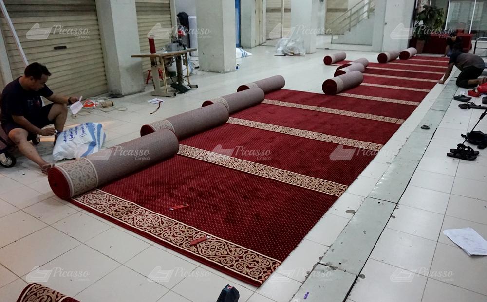 Karpet Masjid PT. Agri Spice Jogja, Klaten, Jogja