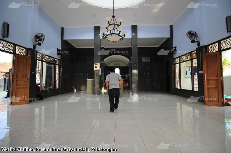 karpet masjid hijau pekalongan
