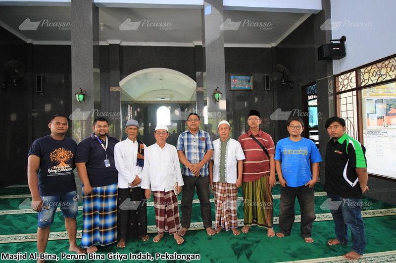 Profil Masjid Al Bina Perum Bina Griya Indah, Pringlangu, Pekalongan