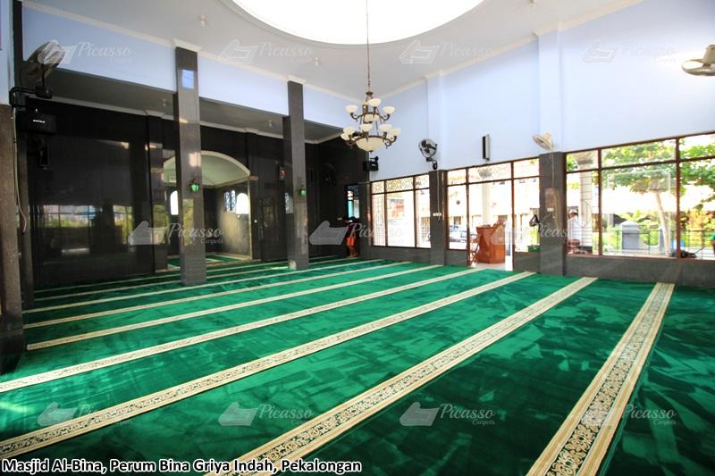 Karpet Masjid Al-Bina, Pekalongan