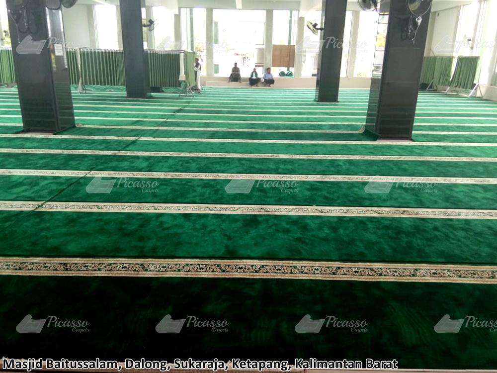 Karpet Masjid Baitussalam Ketapang – Kalimantan Barat