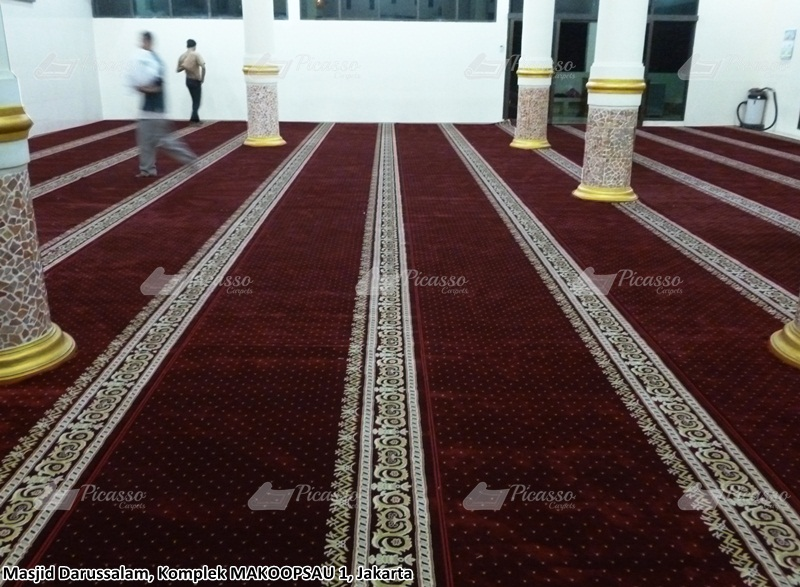 karpet masjid merah, jakarta utara