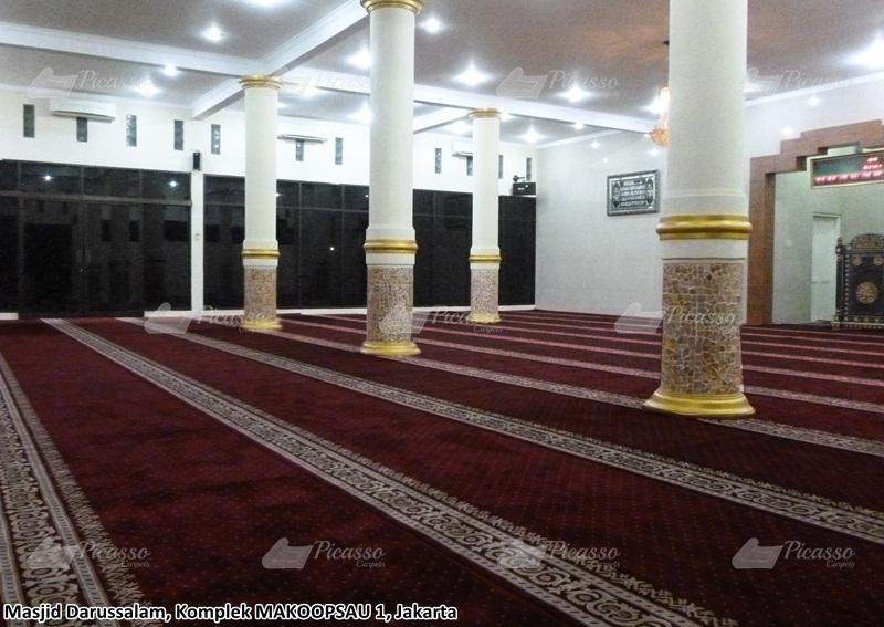 Karpet Masjid Darussalam MAKOOPSAU 1 Jakarta Utara