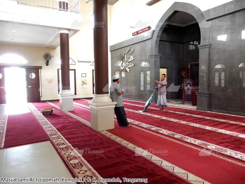 karpet masjid merah, tangerang