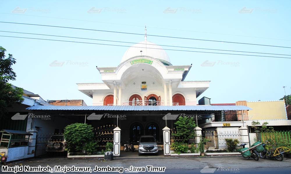Karpet Masjid Namiroh, Pasar Mojoduwur, Jombang