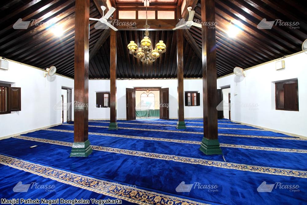 Karpet Masjid Pathok Nagari Jogja