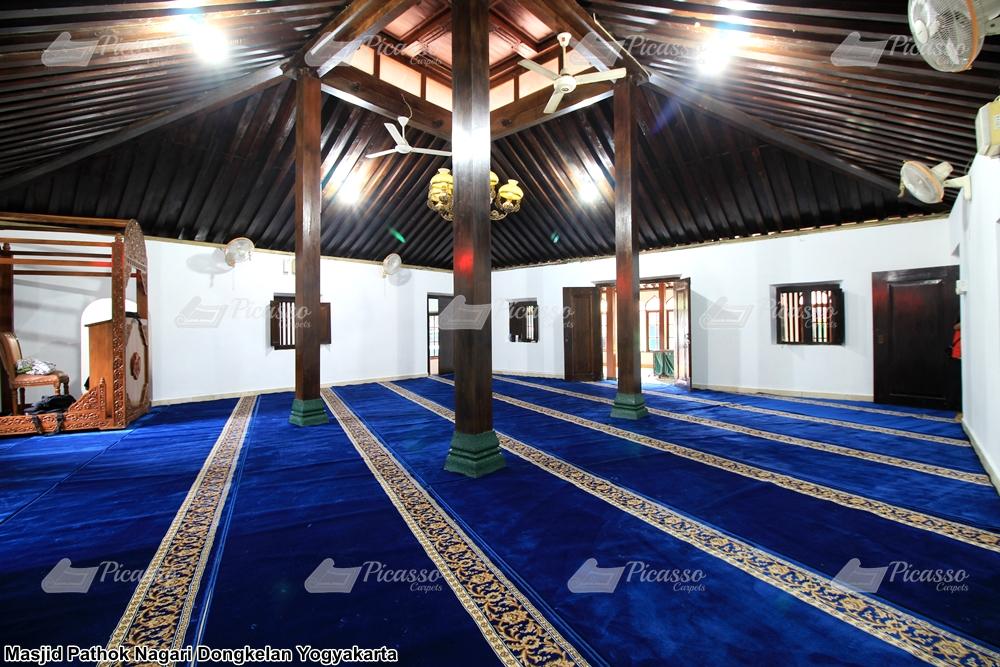 Karpet Masjid Pathok Nagari Dongkelan Yogyakarta