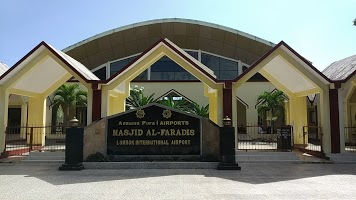 PROYEK SETTING KARPET MASJID AL-FARADIS BANDARA INTERNATIONAL LOMBOK