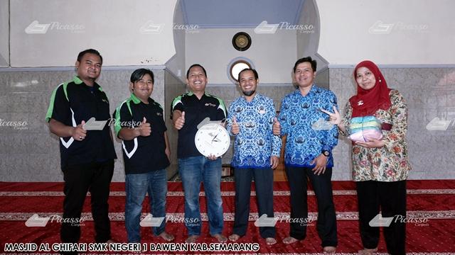 Karpet Masjid ALGHIFARI Komplek SMKN 1 Bawen Semarang