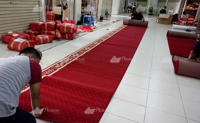 karpet masjid merah Jambi
