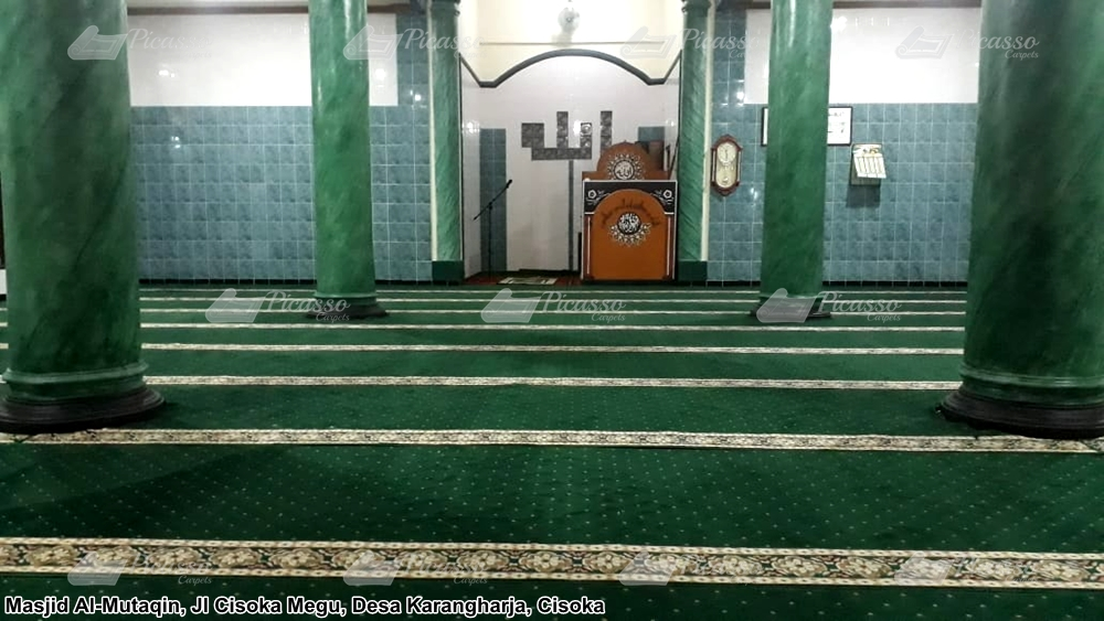 Karpet Masjid Al Mutaqin, Cisoka – Tangerang