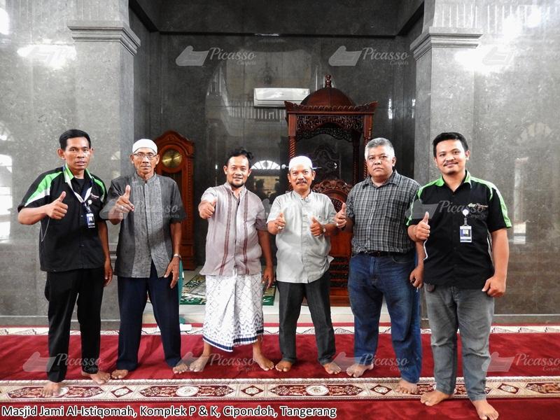 Karpet Masjid Jami Al-Istiqomah Komplek P dan K Cipondoh Tangerang Jilid II
