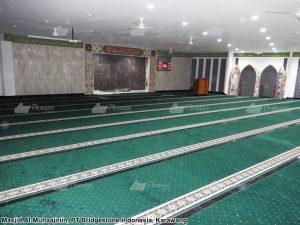 karpet masjid kantor Bridgstone  karawang