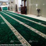 karpet masjid hijau bombana