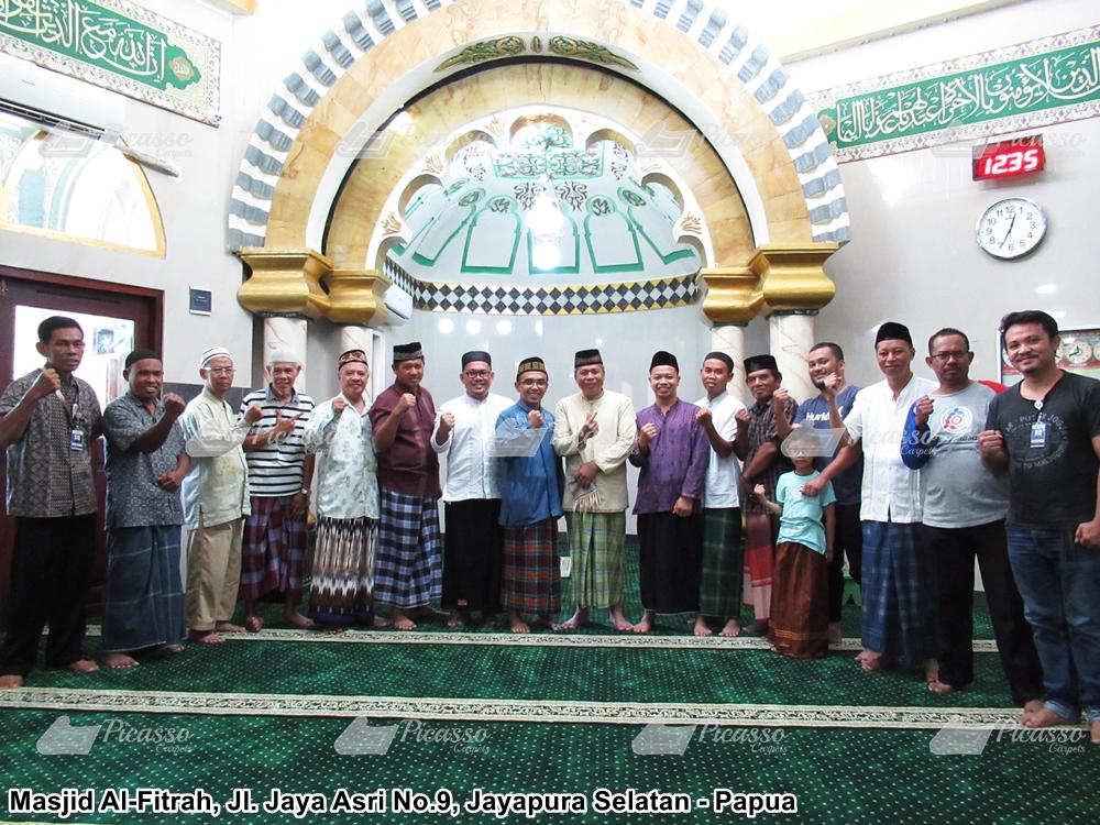 Karpet Masjid Al-Fitrah Jl Asri Raya No 9 Jayapura