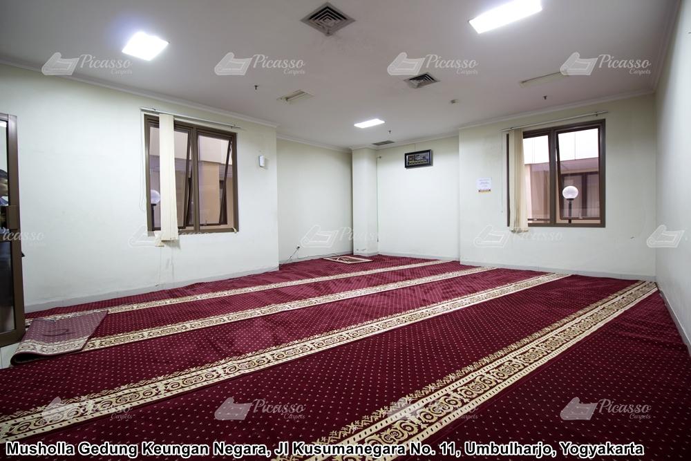 Karpet Masjid Gedung Keuangan Negara Yogyakarta