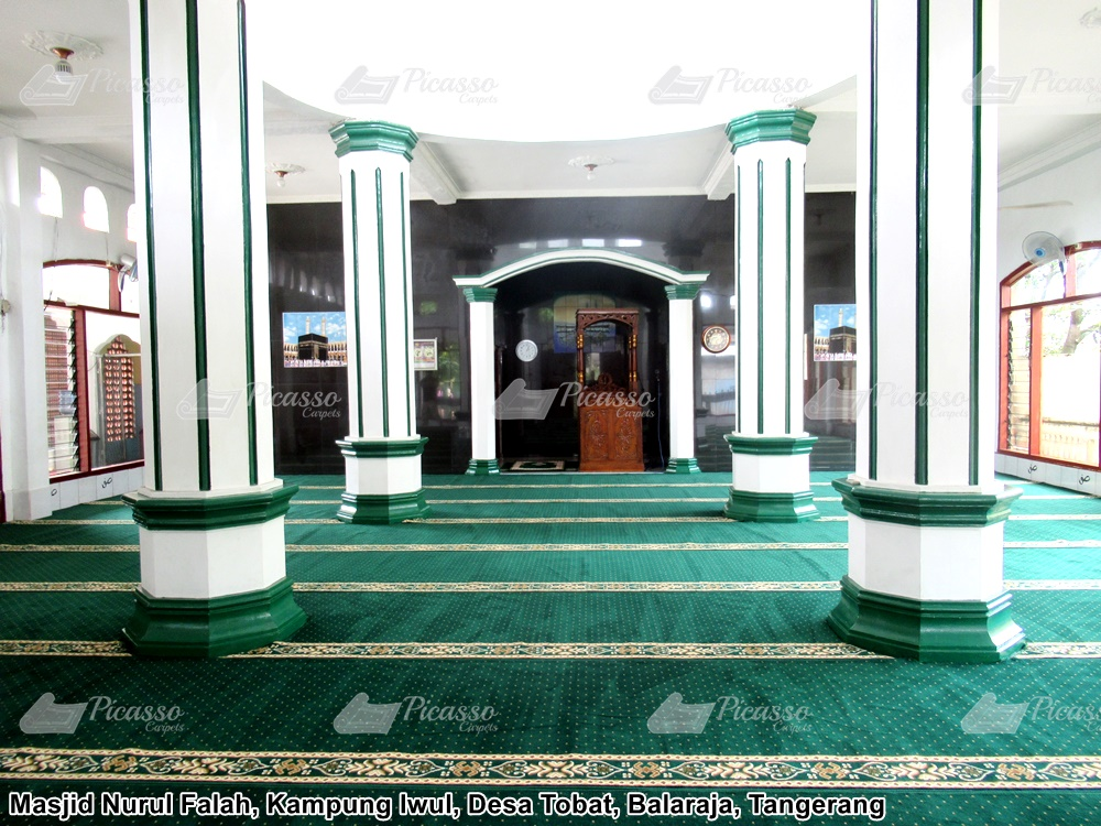 Karpet Masjid Nurul Falah, Balaraja, Tangerang