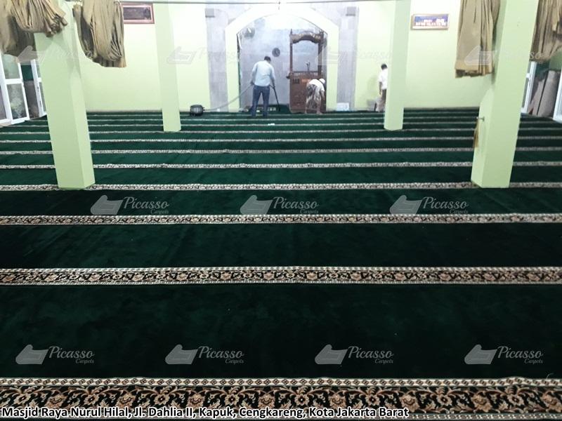 Karpet Masjid Raya Nurul Hilal Cengkareng Indah – Jakarta Barat
