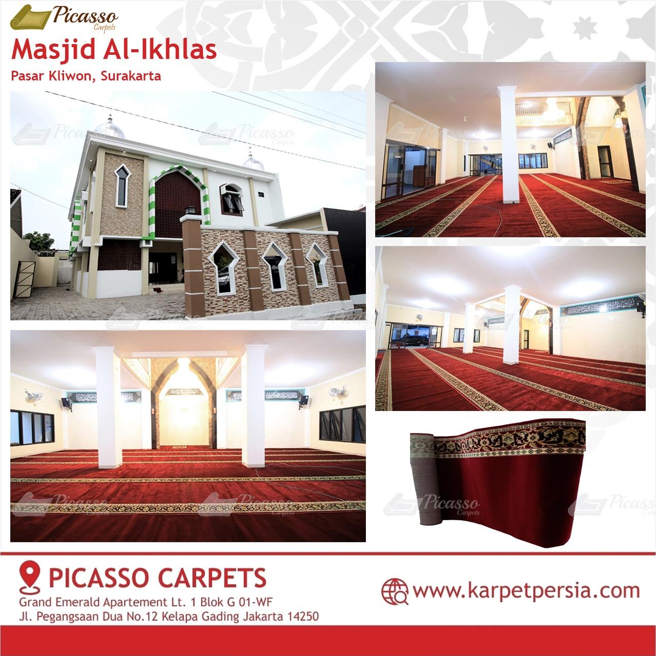 karpet masjid merah surakarta