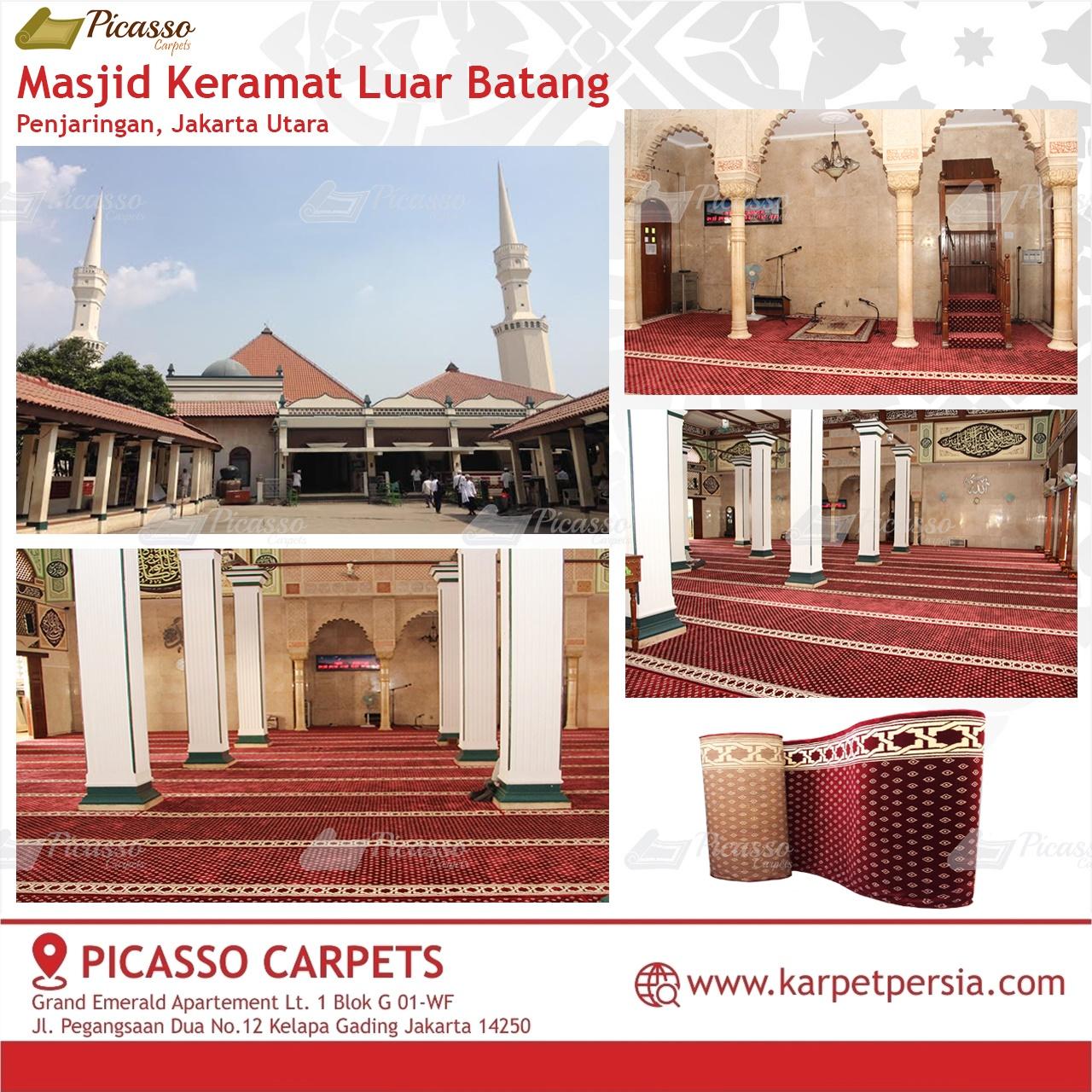 karpet masjid merah jakarta