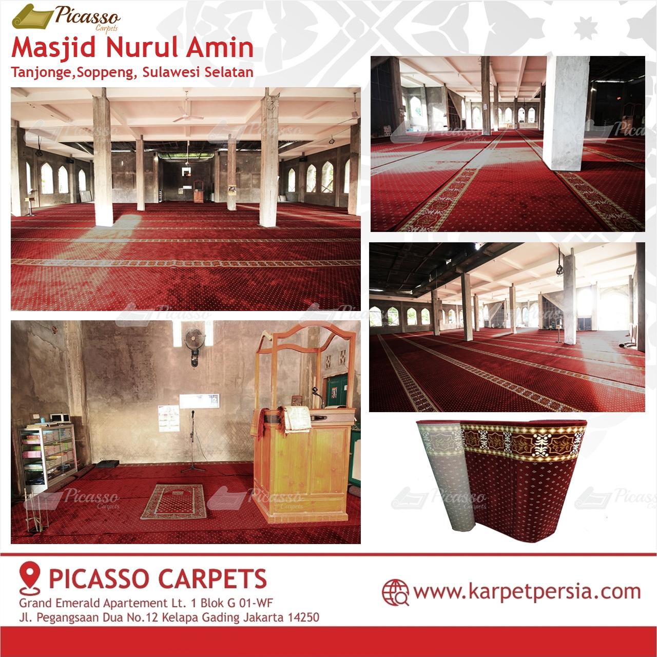 karpet masjid merah soppeng