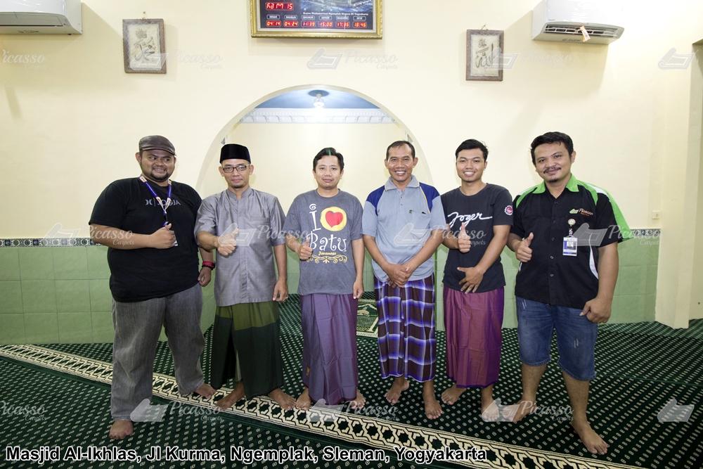 Karpet Masjid Al-Ikhlas Jl. Kurma, Kayen, Blotan Wedomartani Ngemplak Sleman Jogja