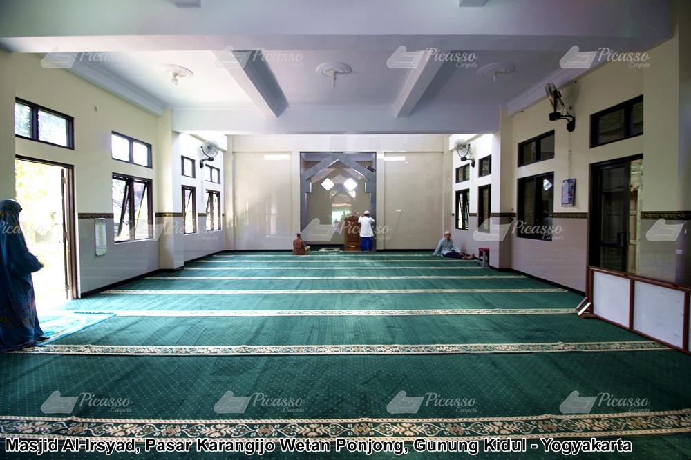 Karpet Masjid Al-Irsyad Pasar Karangijo Wetan Ponjong Gunungkidul