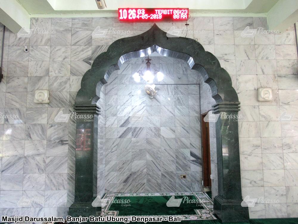 karpet masjid hijau minimalis banjarbatur denpasar