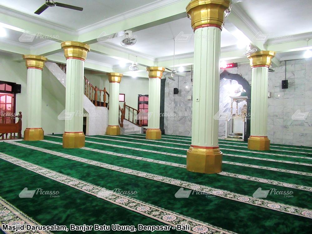 Karpet Masjid Darussalam Banjar Batur Ubung Denpasar Bali