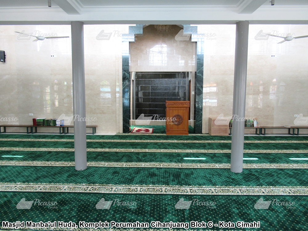 Karpet Masjid Manbaul Huda Cimahi