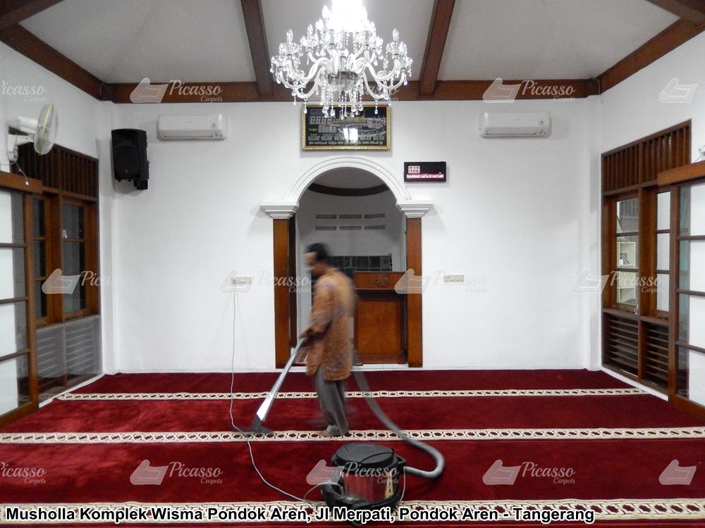 Karpet Musholla Komplek Wisma Pondok Aren Tangerang