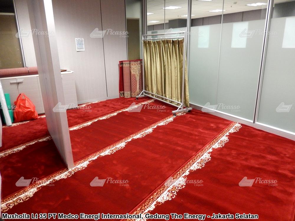 Karpet Musholla Lt 35 PT Medco Energy International, Gedung The Energy Jakarta Selatan