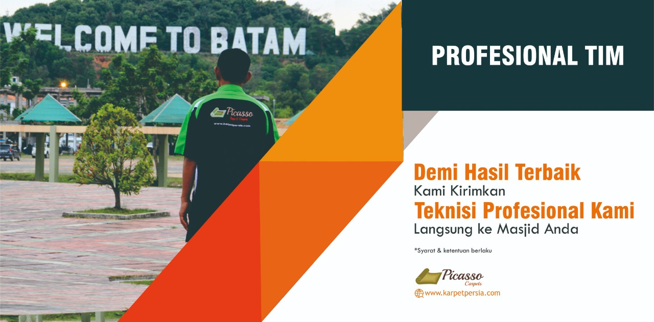 Tim Teknisi Ahli Karpet Masjid