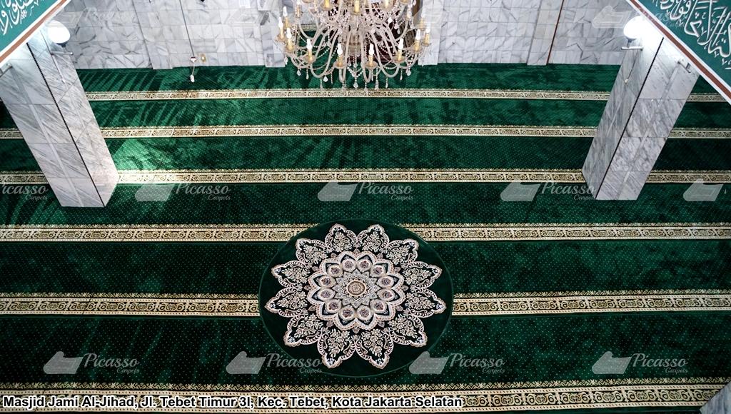 Karpet Masjid Jami Al-Jihad Tebet